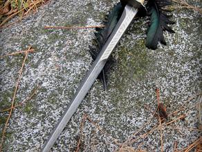 All metal Rondel Dagger