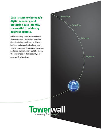 Brochure Cover Design Towerwall