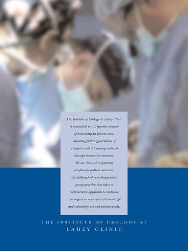 Portfolio inside front cover design