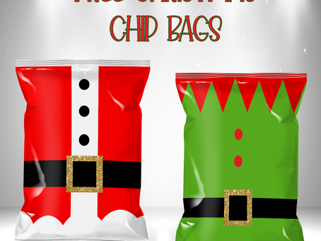 FREE CHRISTMAS CHIP BAGS