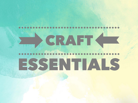 Cricut Crafts - MUST HAVE CRAFT TOOLS