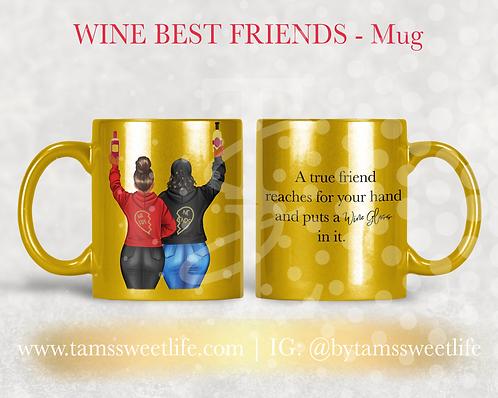 Wine Friend Mug