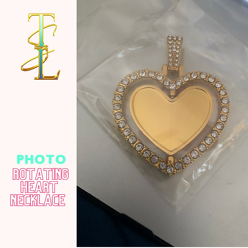 Rotating Photo Necklace