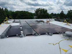Flat Roof Solar Panel Installation