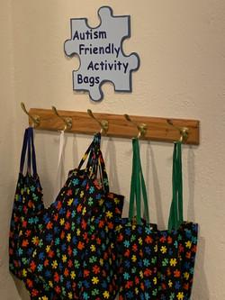 Autism Friendly Activity Bags