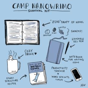 Camp NaNoWriMo Conclusion