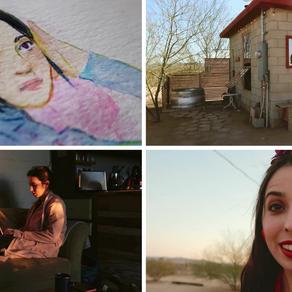 Travel Art Vlog   California Desert Art Retreat