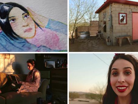 Travel Art Vlog | California Desert Art Retreat