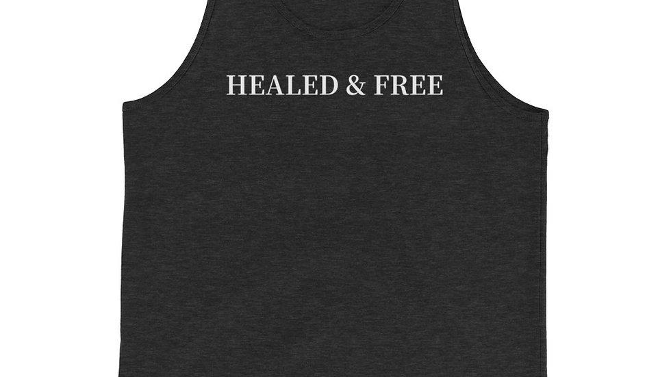 Healed & Free Unisex Tank Top