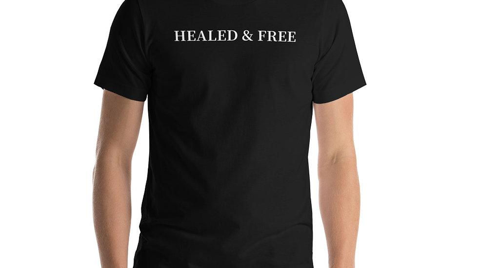 Healed & Free Short-Sleeve Unisex T-Shirt