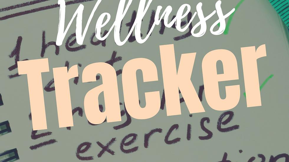 FREE Printable Wellness Tracker