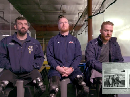 Tru-Spot Salutes True American Heroes Chopping It On The Ice