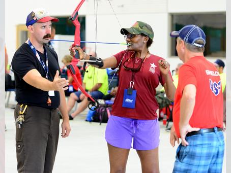 Tru-Spot Salutes Army Veteran that discovers archery talent at National Veterans Summer Sports