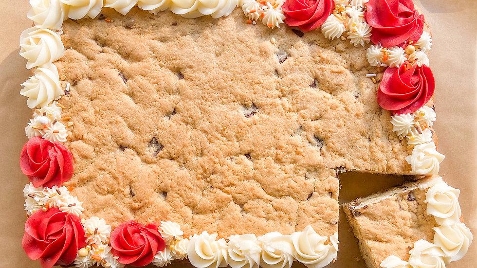 """Cookie Love"" Cookie Cake -Large"