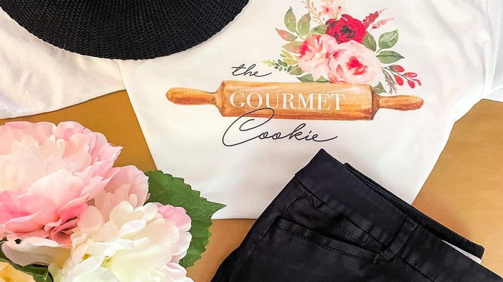 The Gourmet Cookie Logo Tee