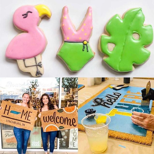 DIY Cookies & Doormats Class