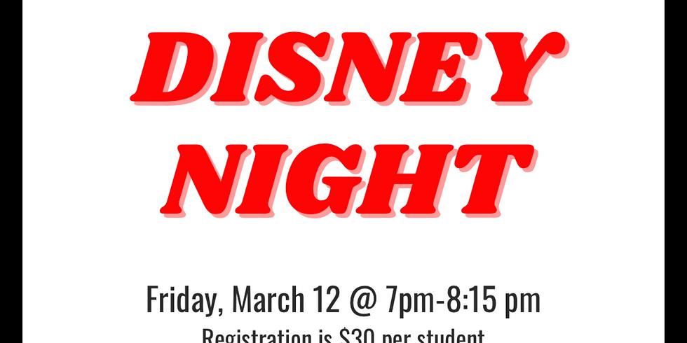 "LIVE Virtual Cookie Decorating Class - ""Disney Night""!"