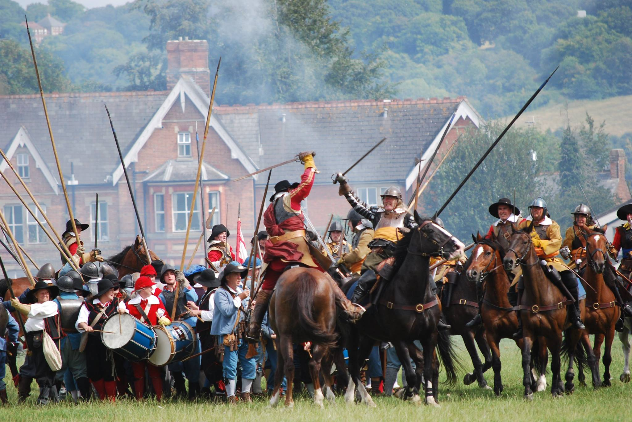 Cavalry fight and Hoptons