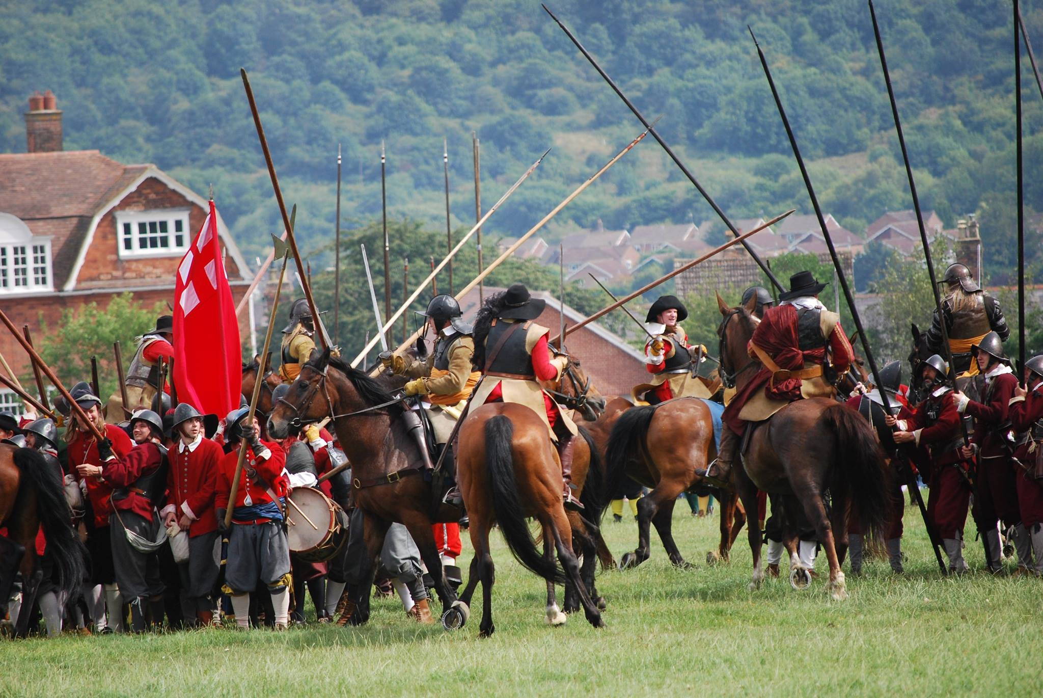 Cavalry fight and Rawdons 3