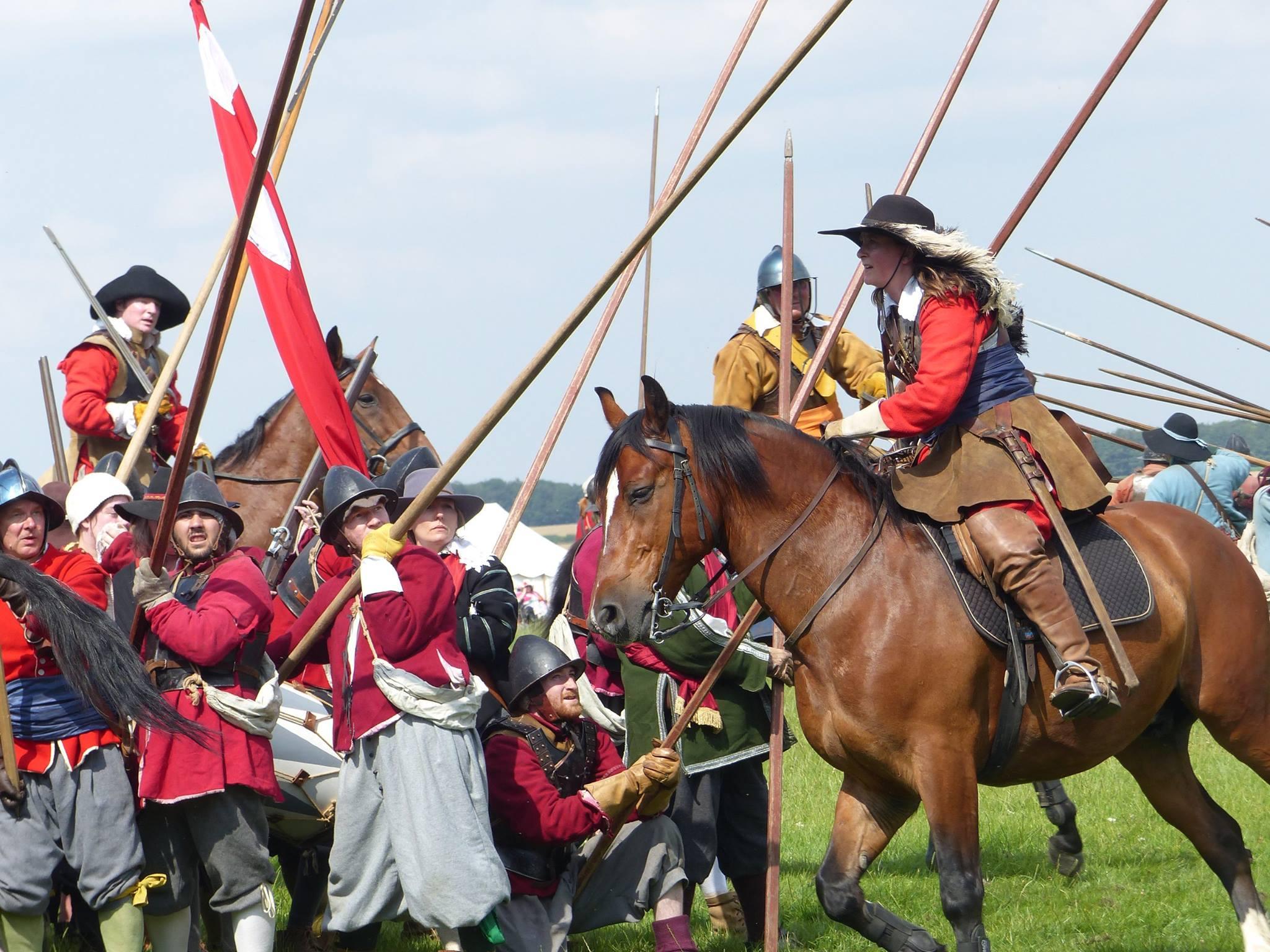 Cavalry attack