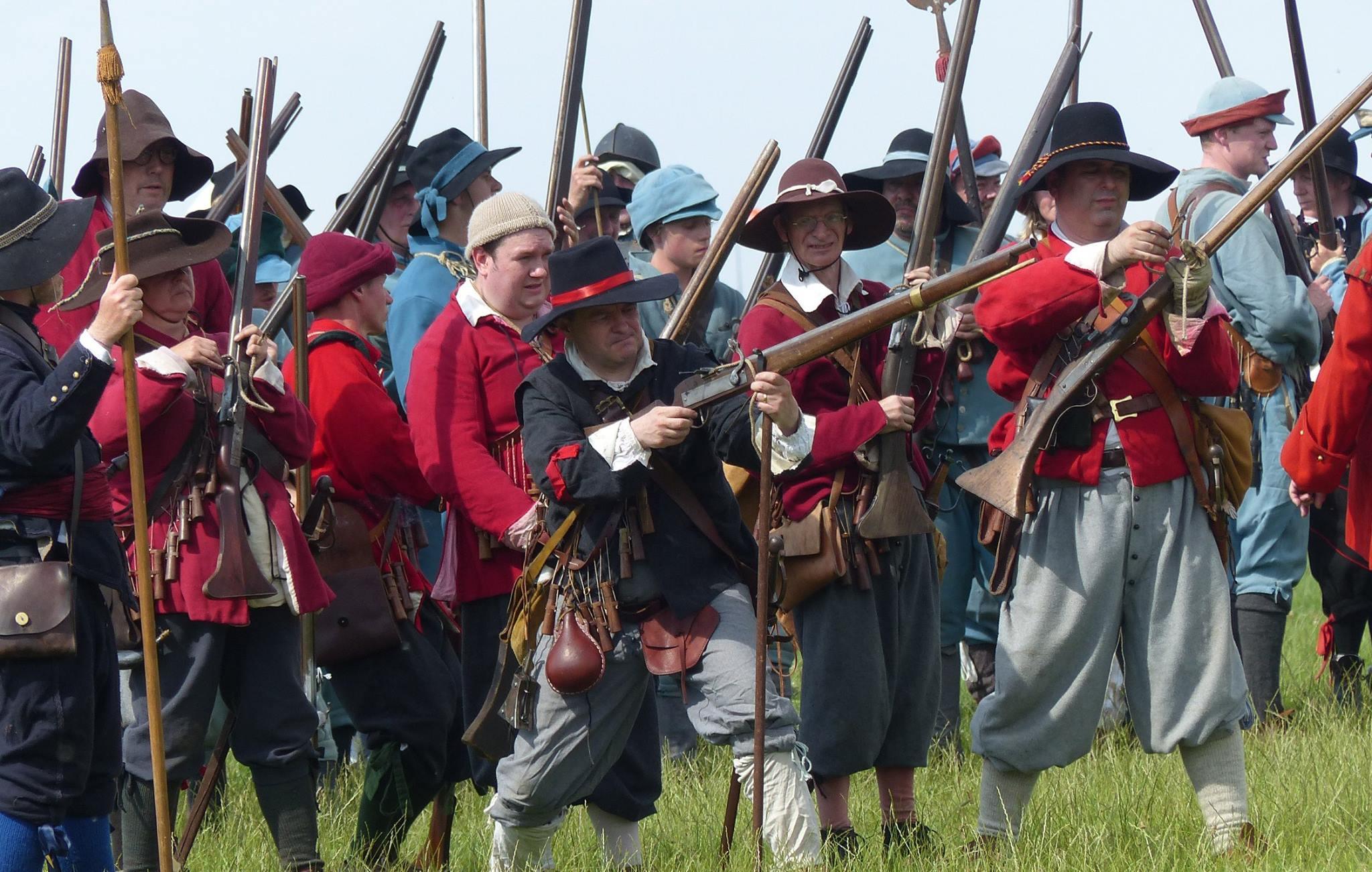 Musketeers at Marlborough