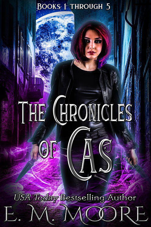 The Chronicles of Cas signed paperback