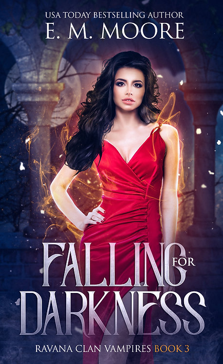 Falling for Darkness signed paperback