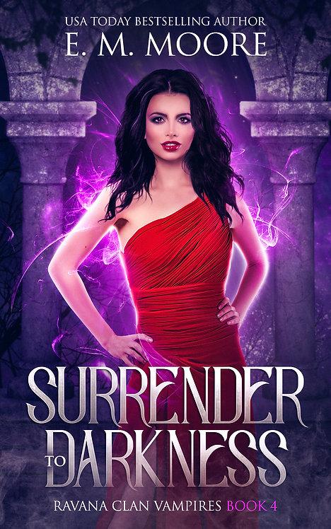 Surrender to Darkness signed paperback