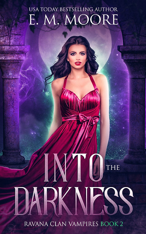 Into the Darkness signed paperback