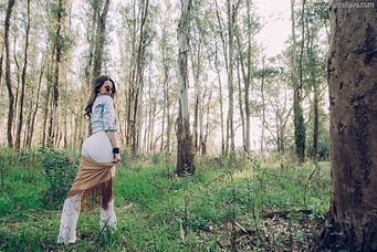 Book 15 años bosque, vestuario para sesion de fotos en el bosque ULTRAFLAVA