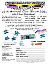 2021 25th Annual Cumberland Valley Car S