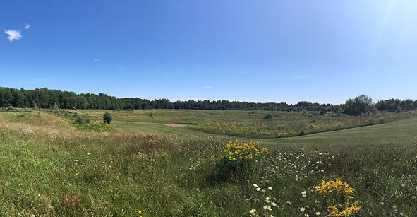 Overview of acreage at nature centre