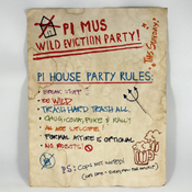 Pi House Party Flyer by TheWastelandCache