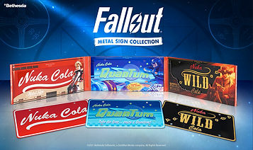 Nuka-Cola Metal Sign Collection (Limited Edition) by Doctor Collector