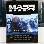 Mass Effect Companion Pins Set 01 by Bioware Gear