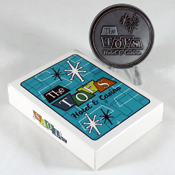 The Tops Casino coin & playing card set by Bethesda Gear