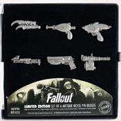 Fallout Weapon pin badge set by Fanattik