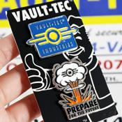 Vault-Tec Pin Set By Bethesda Gear