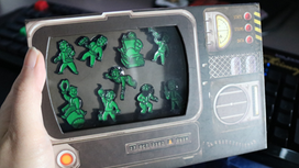 Pip-Boy Pin Badge Set by Numskull Designs