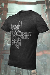 Liberty Prime Graphic T-Shirt by Bethesda Gear