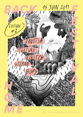 Affiche Back Home Festival #2