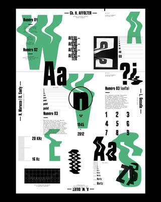 Typographie AFFOLTER HERTZ