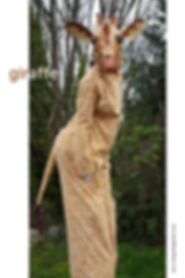 Sarah Liane Foster as Giraffe on Stilts