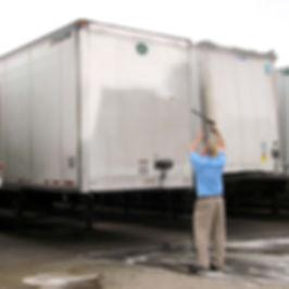 Scott 2-Step Washing A Trailer