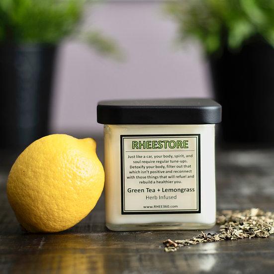 RheeStore = Green Tea + Lemongrass
