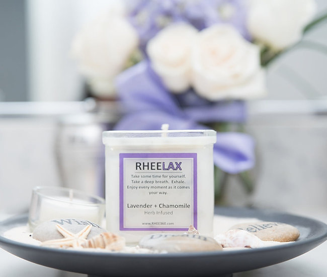 RheeLax = Lavender + Chamomile