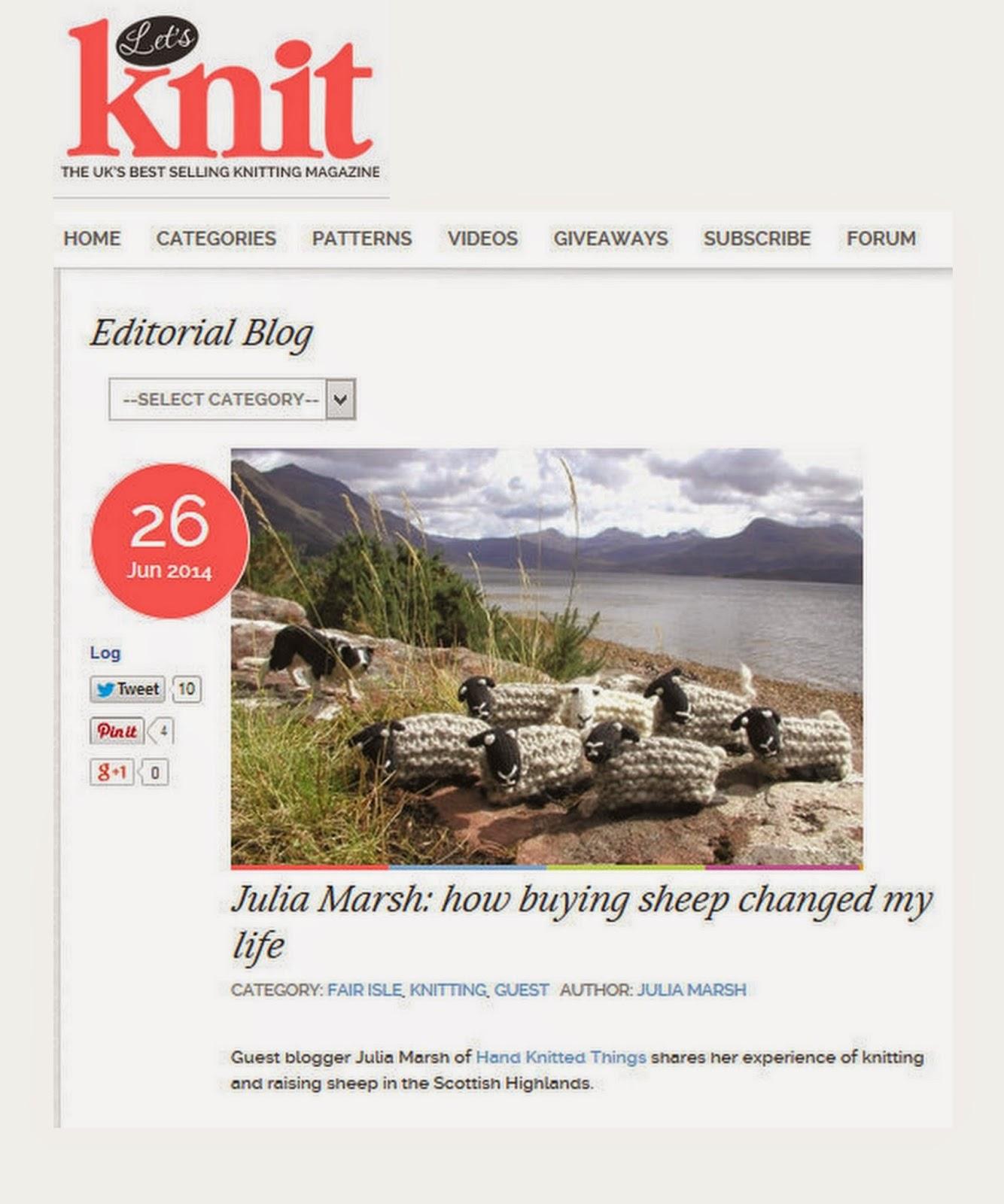 Let's Knit Magazine June 2014