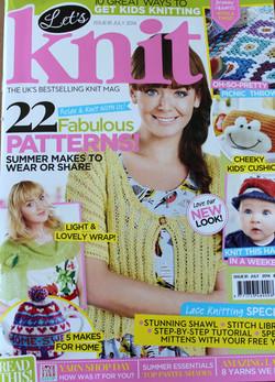 Let's Knit Magazine July 2014