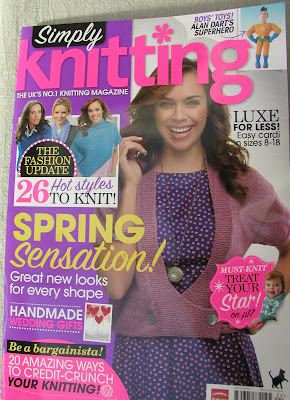 Simply Knitting  Spring 2012