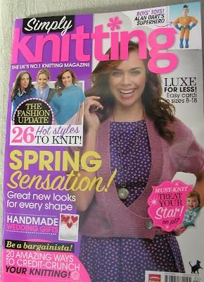 Simply Knitting  Spring 2012
